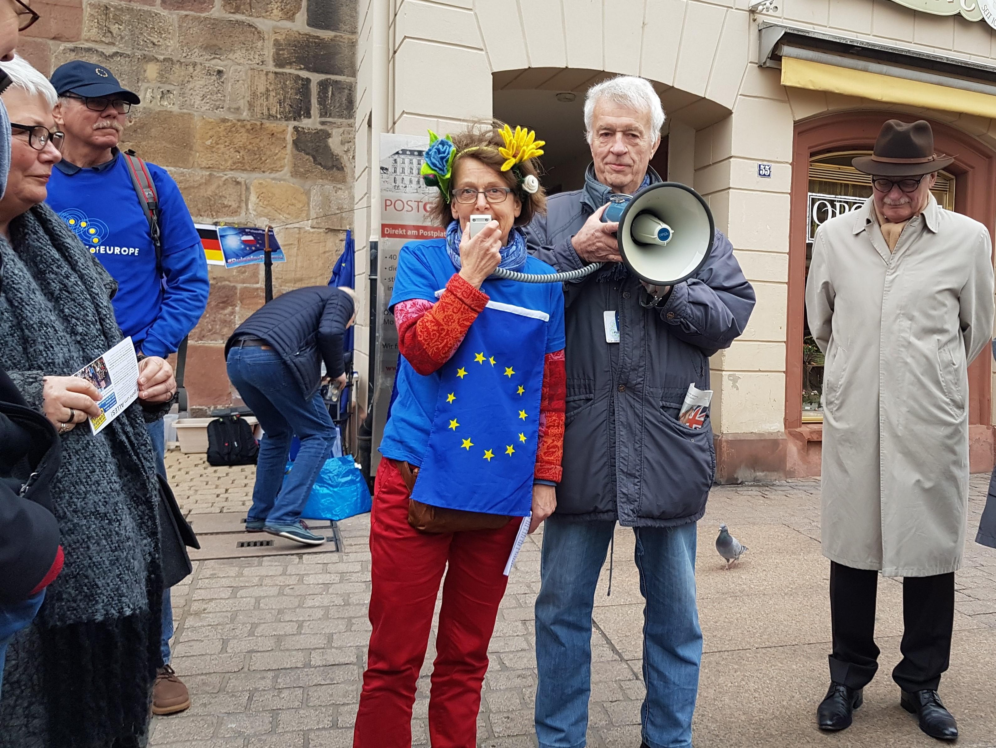 Pulse of Europe – Treffen in Speyer vorm Altpörtel am So 03.03.2019