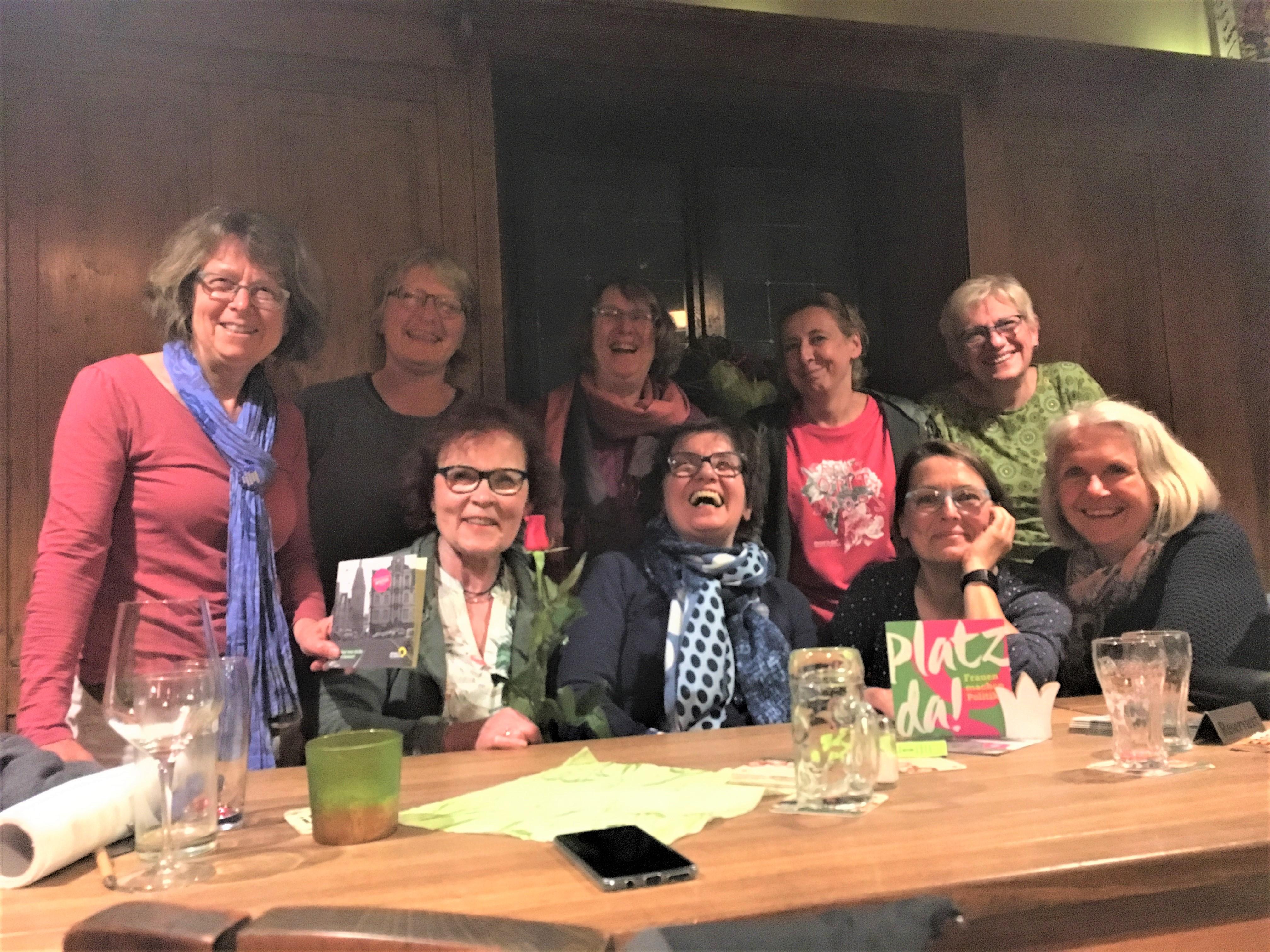 GRÜNER Frauenstammtisch am 26.04.19