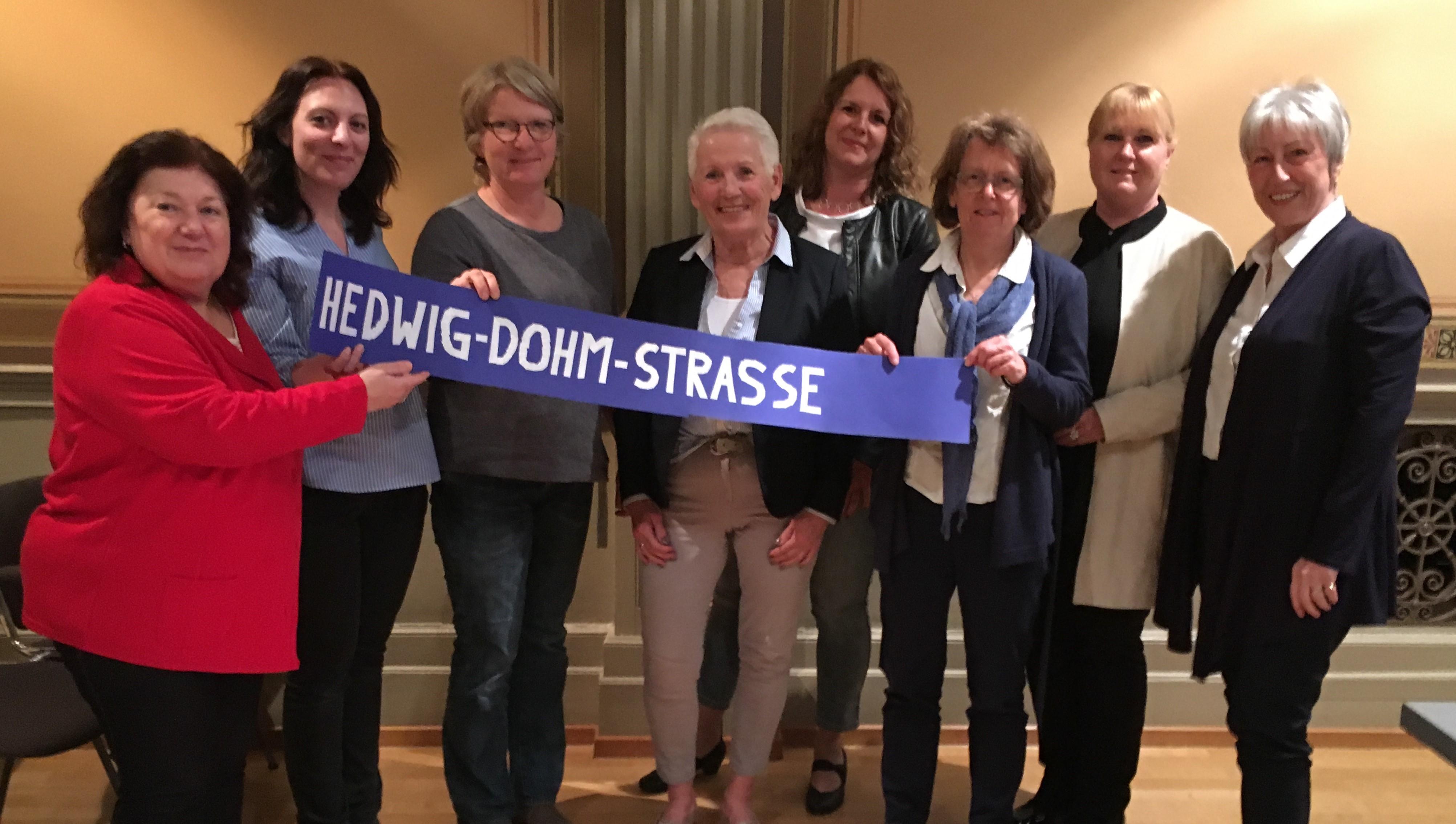 Antrag der Stadträtinnen zur HEDWIG-DOHM-STRAßE beschlossen