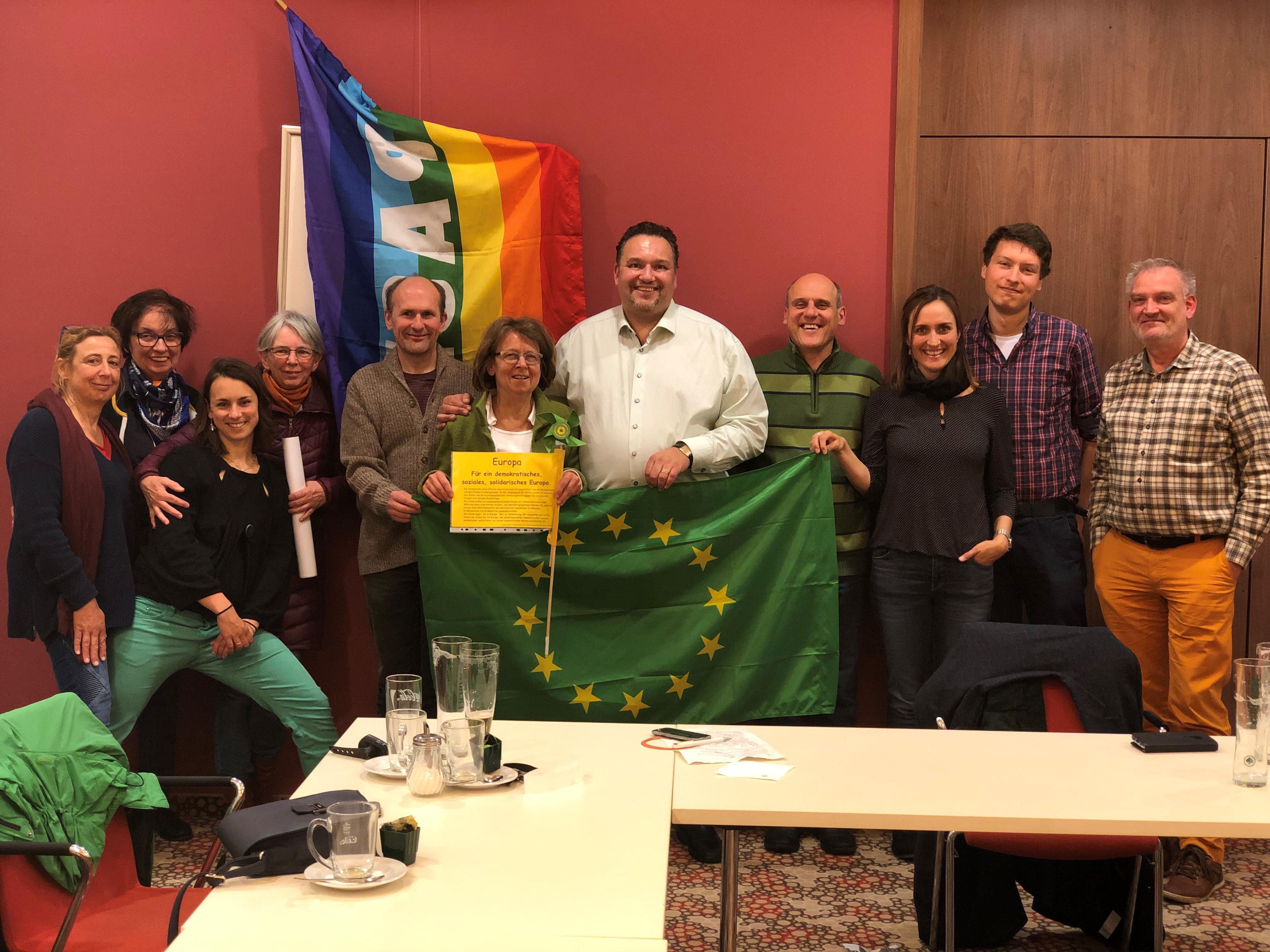 Warum wir für die EU kämpfen müssen! Romeo Franz in Speyer