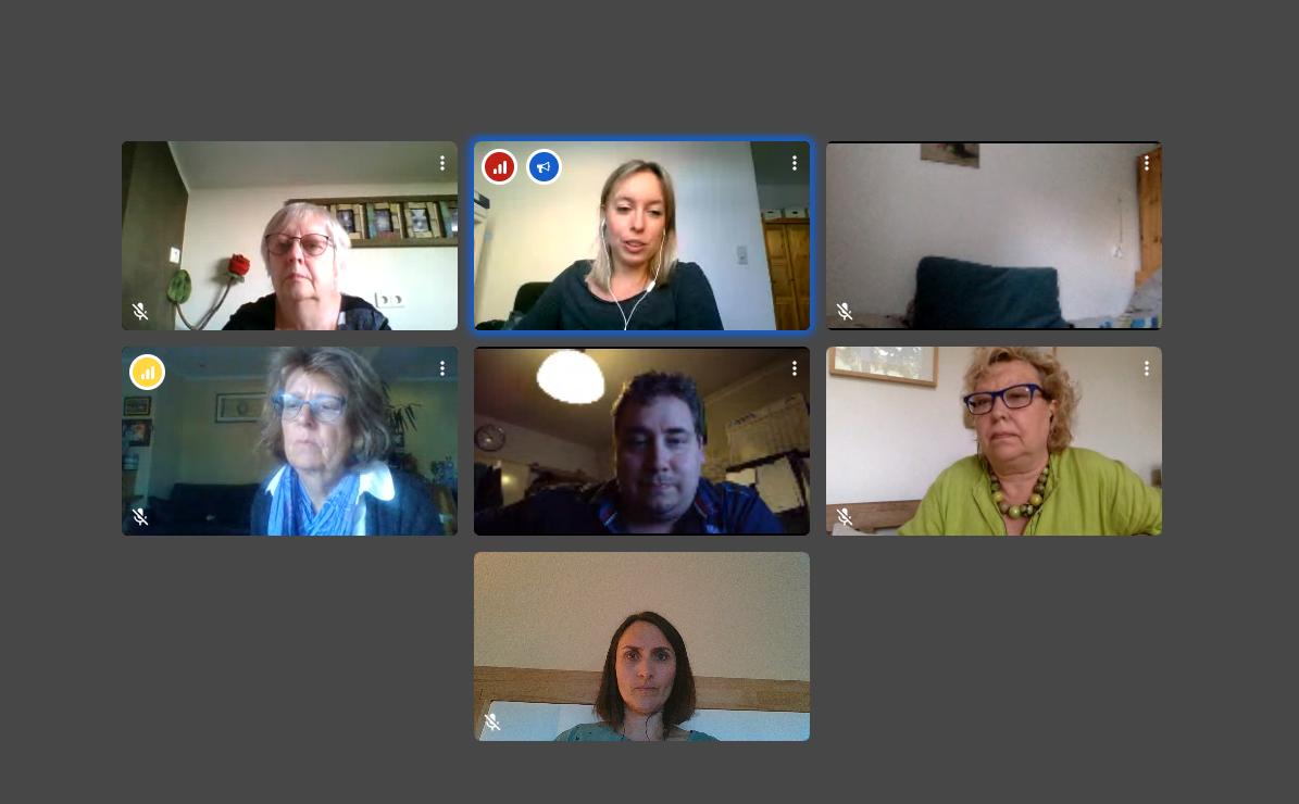 Digitales Treffen der AG Ernährung