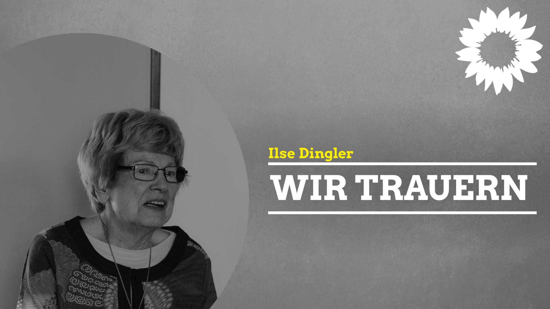NACHRUF: Ilse Dingler