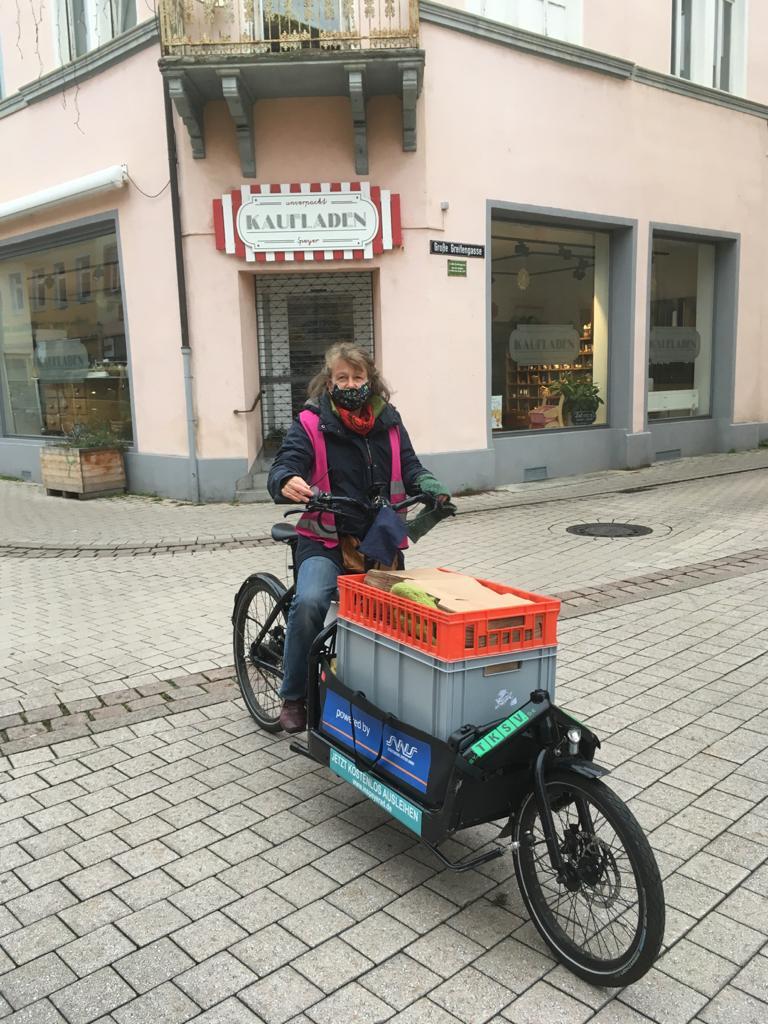 """""""Irmel"""" macht den Speyerer Wochenmarkt plastikfrei"""