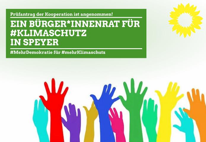 GRÜNE fordern Bürger*innenrat zur Fortschreibung des Klimaschutzkonzeptes