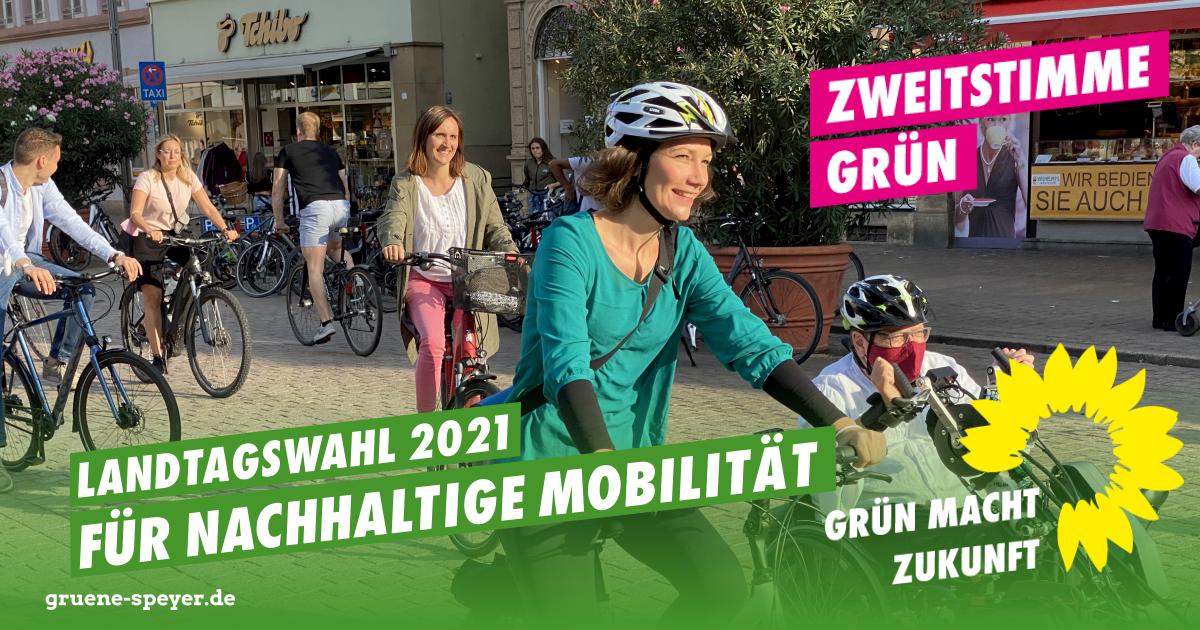 Landtagswahl 2021: Nachhaltige Mobilität