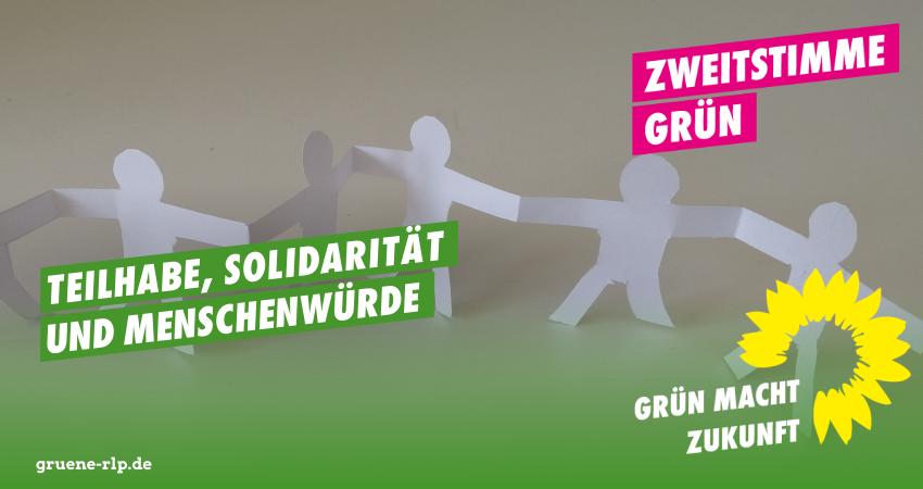 Landtagswahl 2021: Teilhabe, Solidarität und Menschenwürde