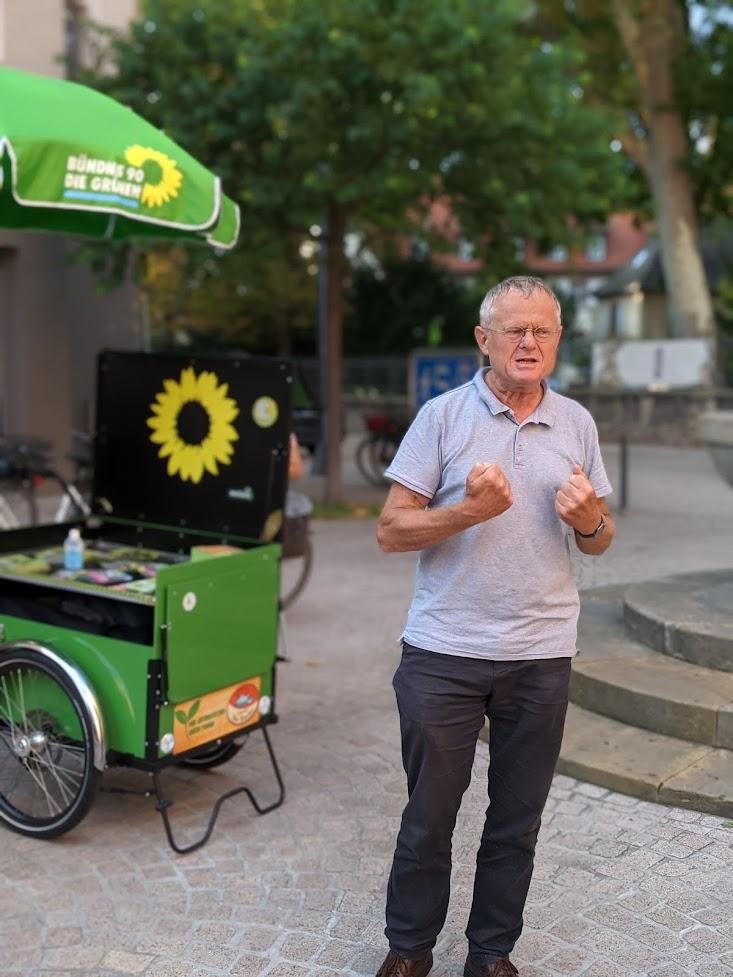 Grüne Radtour mit Armin Grau